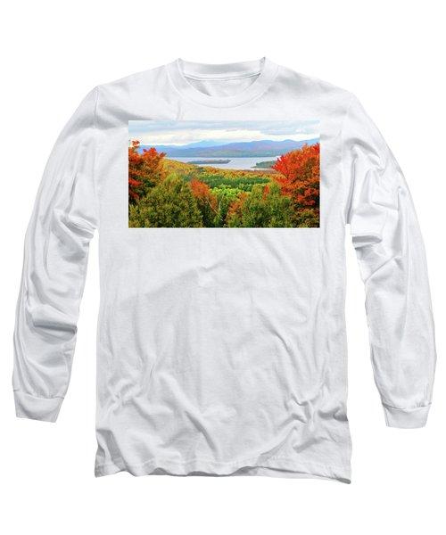 Rangeley Lake And Rangeley Plantation Long Sleeve T-Shirt