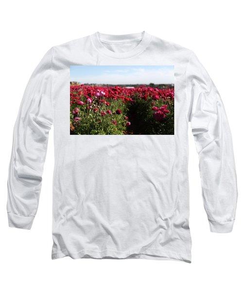 Ranunculus Field Long Sleeve T-Shirt