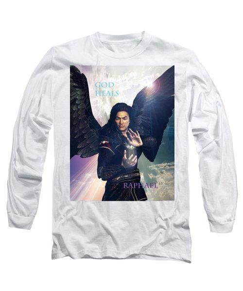 Raphael Heals 7 Long Sleeve T-Shirt by Suzanne Silvir