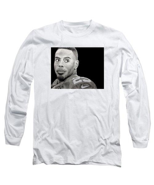 Rashad Jennings Drawing Long Sleeve T-Shirt