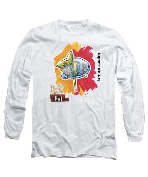 Rat Horoscope Long Sleeve T-Shirt