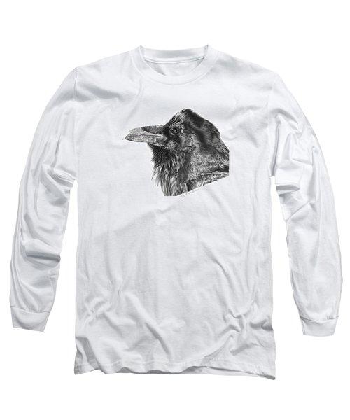 Ravenscroft The Raven Long Sleeve T-Shirt by Abbey Noelle