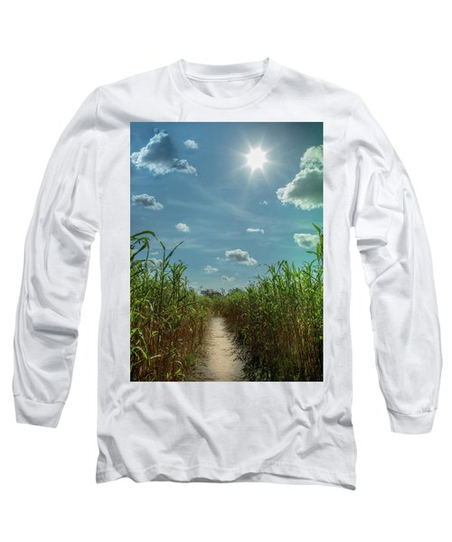 Long Sleeve T-Shirt featuring the photograph Rays Of Hope by Karen Wiles