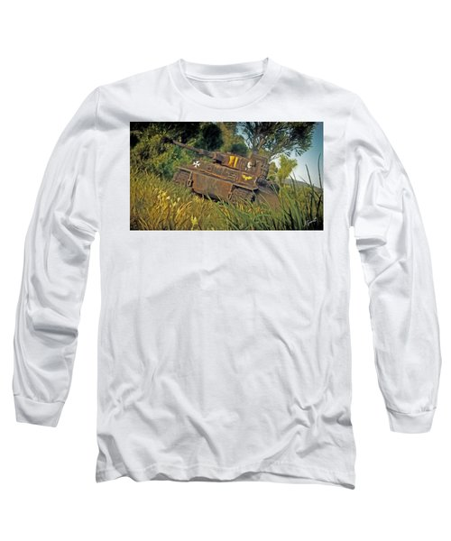 Ready And Waiting Long Sleeve T-Shirt