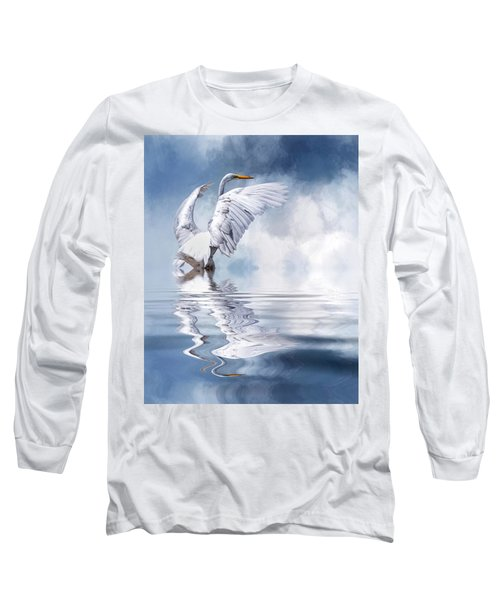 Ready For Take Off Long Sleeve T-Shirt by Cyndy Doty
