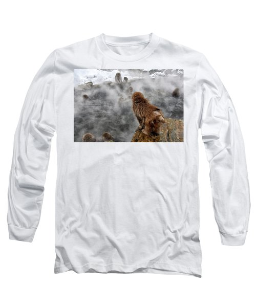 Ready For The Plunge Long Sleeve T-Shirt