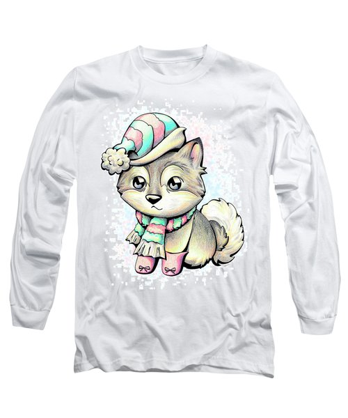Ready For Winter Alaskan Malamute Long Sleeve T-Shirt
