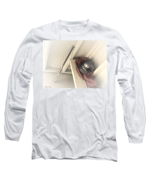 Long Sleeve T-Shirt featuring the photograph Ready To Bat by Shana Rowe Jackson