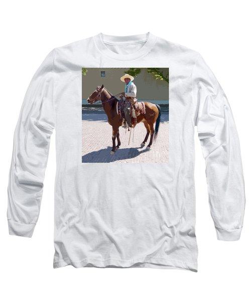 Real Cowboy Long Sleeve T-Shirt