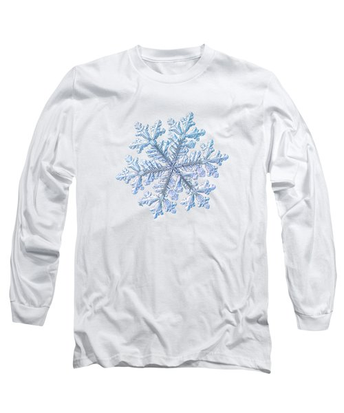 Real Snowflake - Hyperion White Long Sleeve T-Shirt