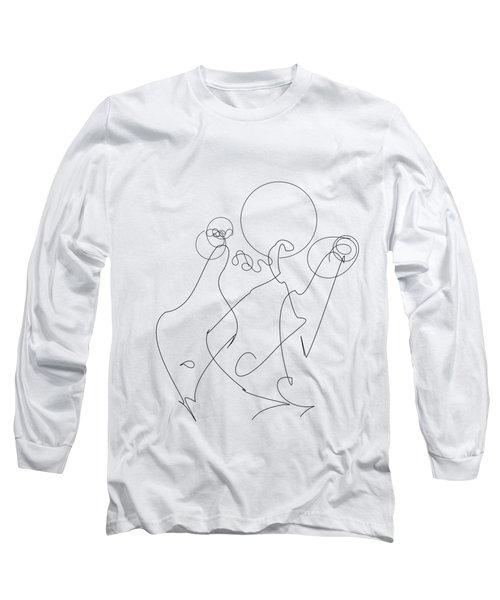 Really Loose Drawing 2 Long Sleeve T-Shirt