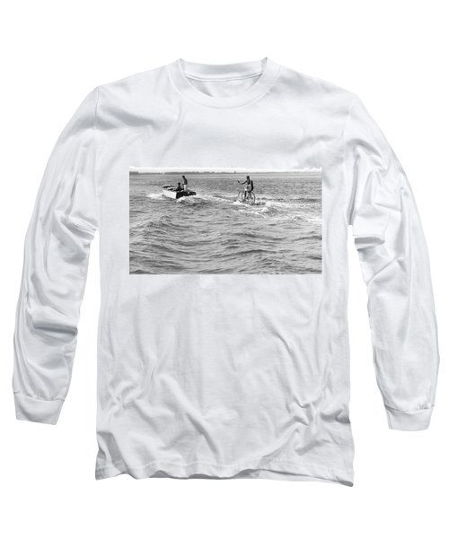Really Riding The Waves Long Sleeve T-Shirt