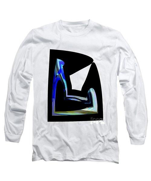 Recline Long Sleeve T-Shirt by Thibault Toussaint