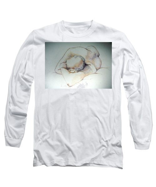 Reclining Study 3 Long Sleeve T-Shirt