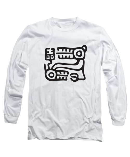Recuay Culture Motif Long Sleeve T-Shirt