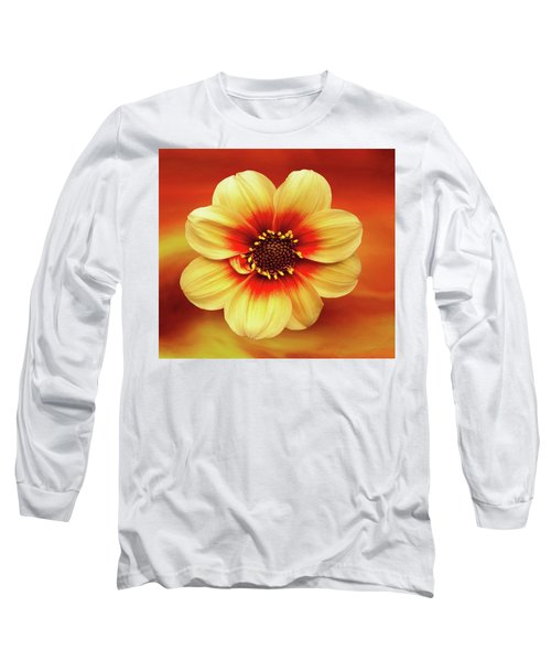 Red And Yellow Inspiration Long Sleeve T-Shirt