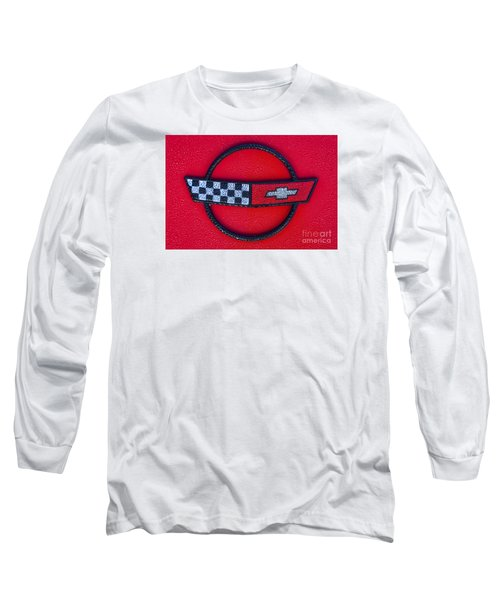 Red C4 Long Sleeve T-Shirt