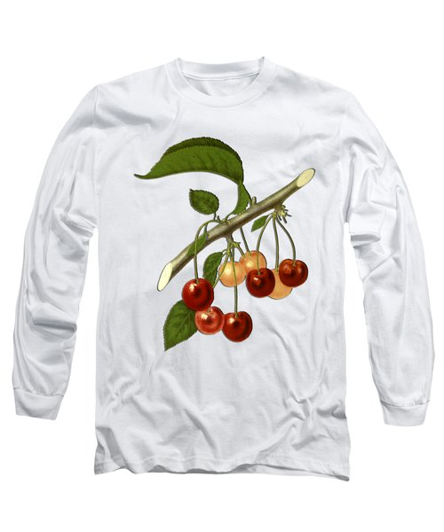 Red Cherries Long Sleeve T-Shirt