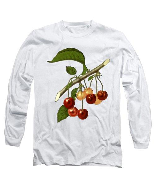 Red Cherries Long Sleeve T-Shirt