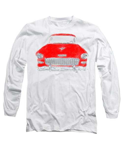 Red Chevy T-shirt Long Sleeve T-Shirt