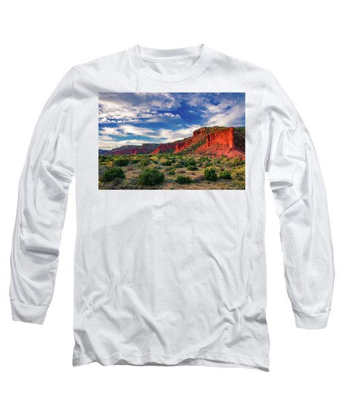 Red Cliffs Of Caprock Canyon 2 Long Sleeve T-Shirt