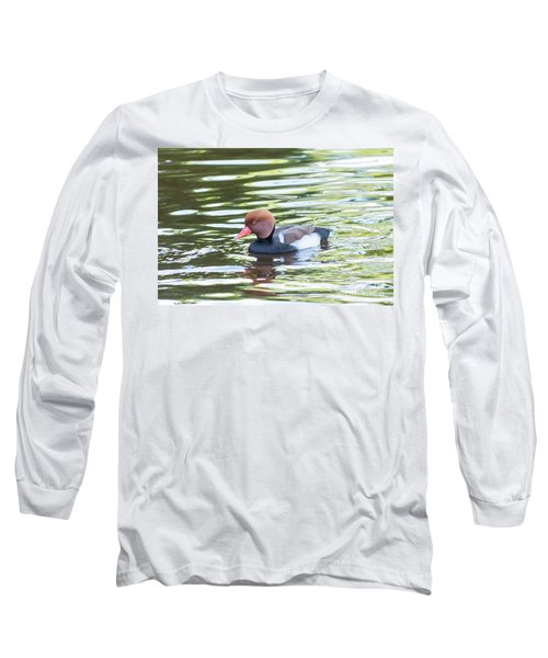 Red Crested Pochard Long Sleeve T-Shirt