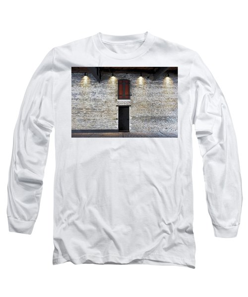 Red Door Long Sleeve T-Shirt by David Blank