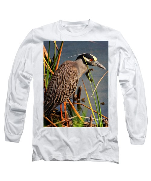 Red Eyes Long Sleeve T-Shirt