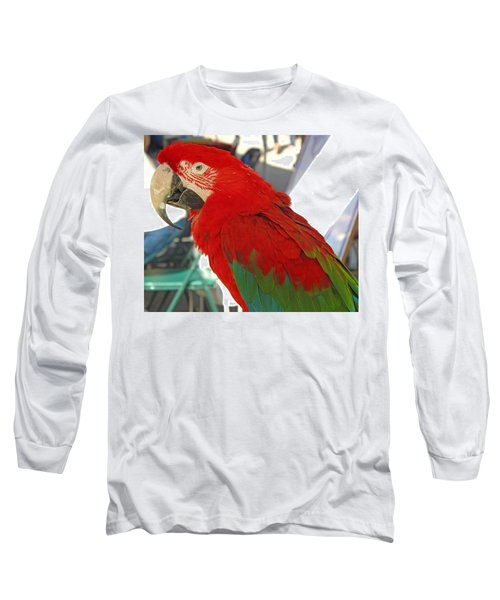 Red Head Long Sleeve T-Shirt