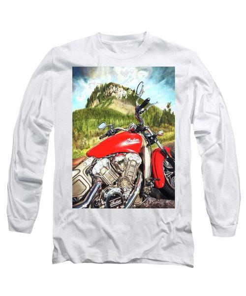 Red Indian Summer Long Sleeve T-Shirt