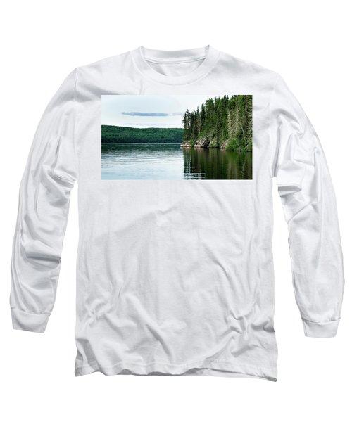 Red Lake Ontario Long Sleeve T-Shirt