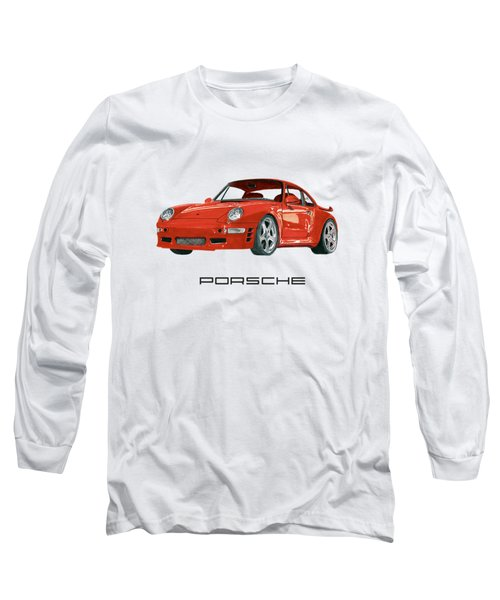 1997  Porsche 993 Twin Turbo R Long Sleeve T-Shirt