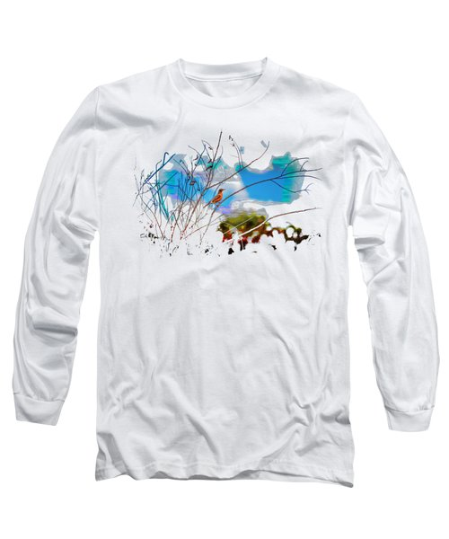 Red Red Robin 3 Long Sleeve T-Shirt