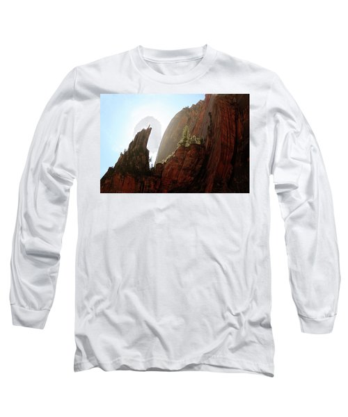 Red Rock At Zion Long Sleeve T-Shirt
