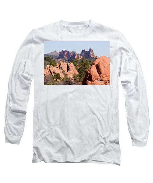 Red Rock Canyon Open Space Park And Garden Of The Gods Long Sleeve T-Shirt