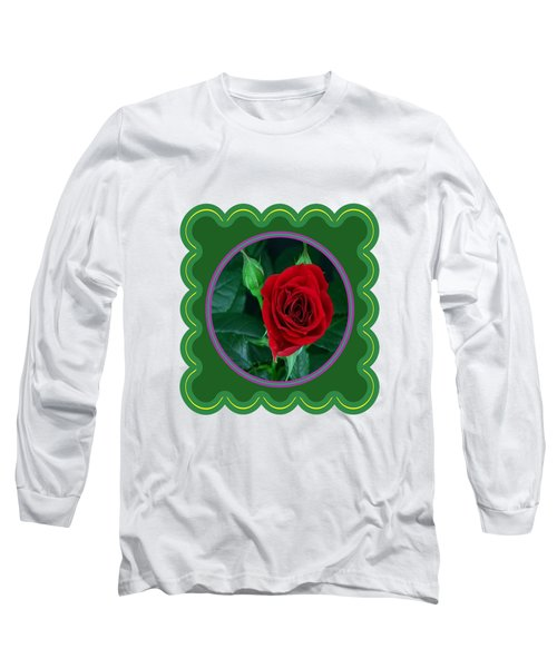 Red Rose Flower Floral Posters Photography And Graphic Fusion Art Navinjoshi Fineartamerica Pixels Long Sleeve T-Shirt