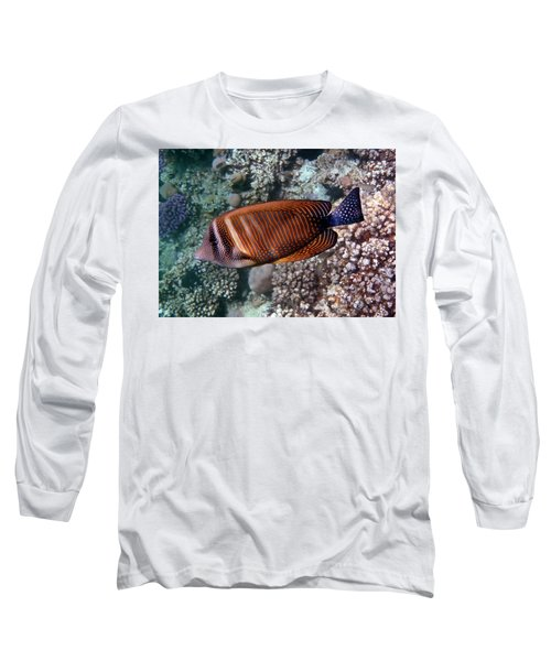 Red Sea Sailfin Tang 3 Long Sleeve T-Shirt