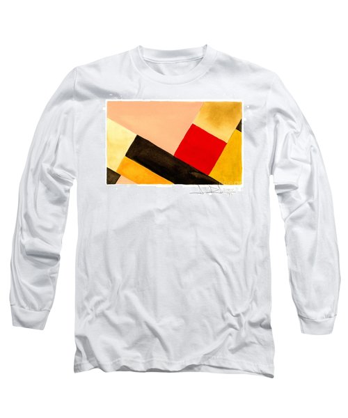 Red Square Long Sleeve T-Shirt