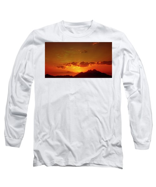 Red Sunset In Africa 2 Long Sleeve T-Shirt