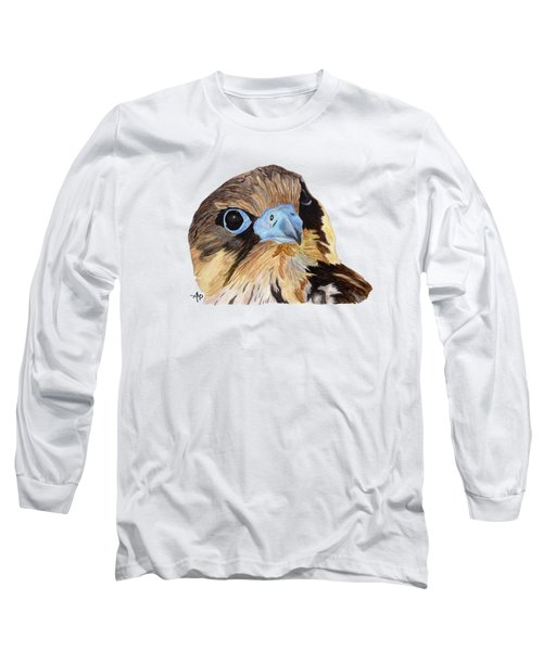 Red-tailed Hawk Portrait Long Sleeve T-Shirt