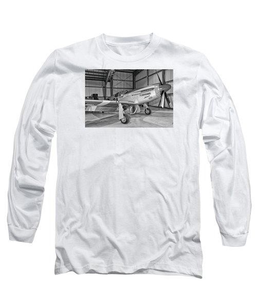 Red Tails Mustang Long Sleeve T-Shirt