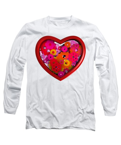 Redish Mechanical Love Long Sleeve T-Shirt