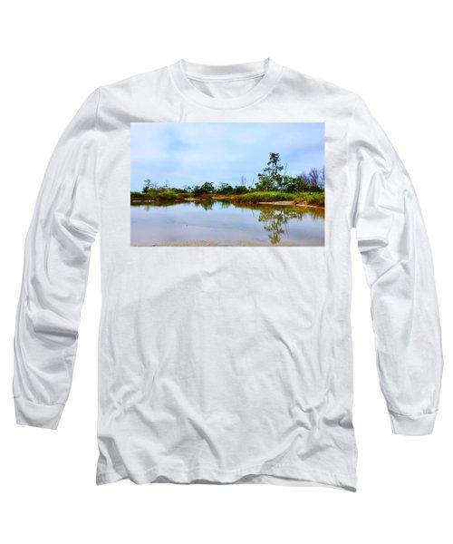 Englewood Beach Long Sleeve T-Shirt