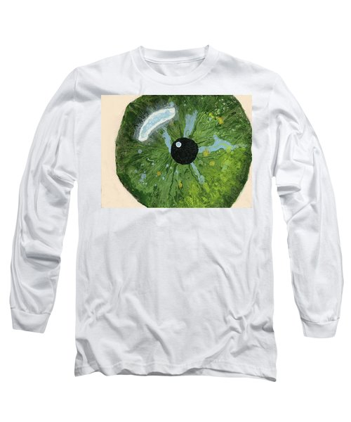 Reflected In The Eye Of A Child Never Born Long Sleeve T-Shirt