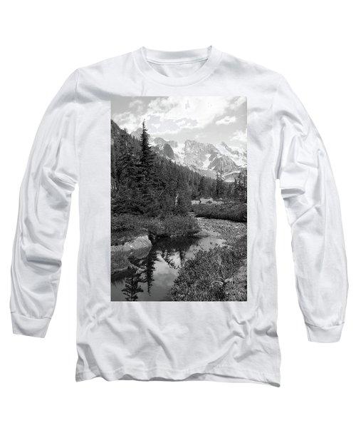 Reflected Pine Long Sleeve T-Shirt