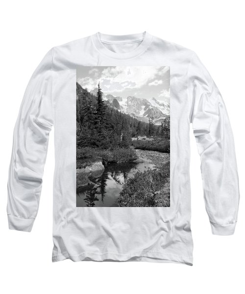 Reflected Pine Long Sleeve T-Shirt