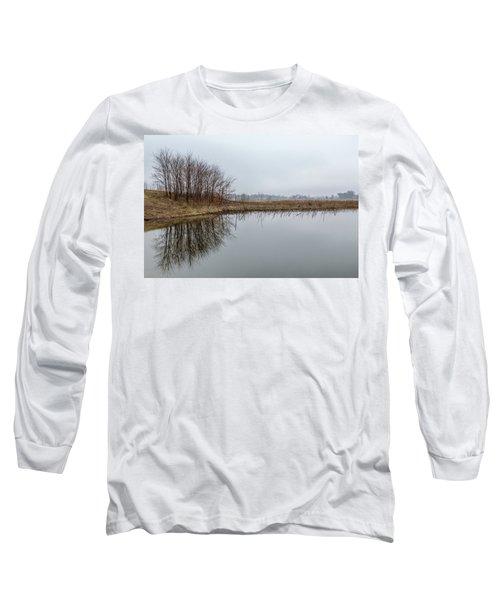 Reflected Trees Long Sleeve T-Shirt
