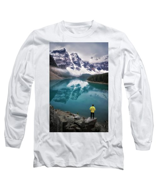 Reflecting On Reflections Long Sleeve T-Shirt by Nicki Frates
