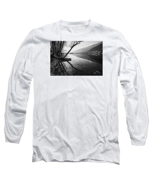 Reflecting Long Sleeve T-Shirt by Yuri Santin
