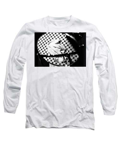 Reflection Of Towel In Mirror Long Sleeve T-Shirt